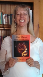 image of dawn fleming with book